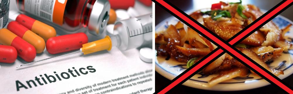 Антибиотики несовместимы с жирной пищей