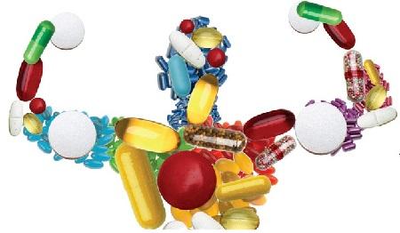 витаминные добавки, БАД, БАДы